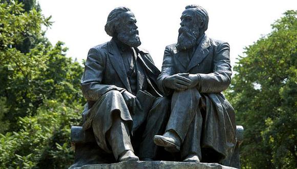 Marx y Engels: dos personalidades supremamente talentosas, unidas en afecto mutuo y ardiendo de pasión por una causa compartida que cambiaron el rumbo de la historia, para bien o para mal. (Getty Images).