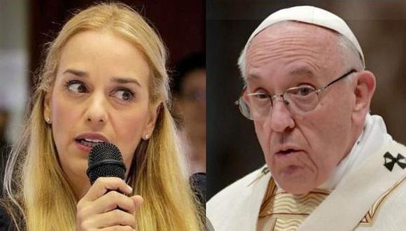 """Tintori: """"Posición del papa frente a Venezuela es inaceptable"""""""