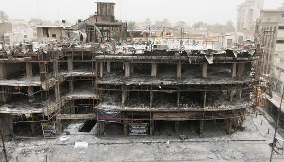 El atroz atentado en Bagdad visto desde un dron [VIDEO]