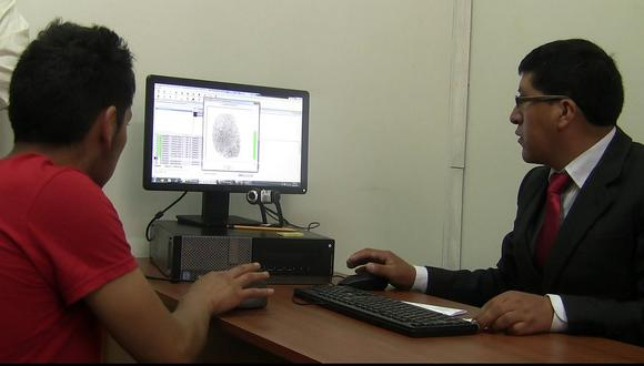 Registro y control biométrico de procesados y sentenciados libres