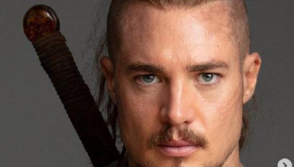 Alexander Dreymon como Uhtred of Bebbanburg en The Last Kingdom. (Foto: Netflix)