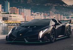 Solo se fabricaron nueve: sale a subasta un Lamborghini Veneno Roadster   FOTOS