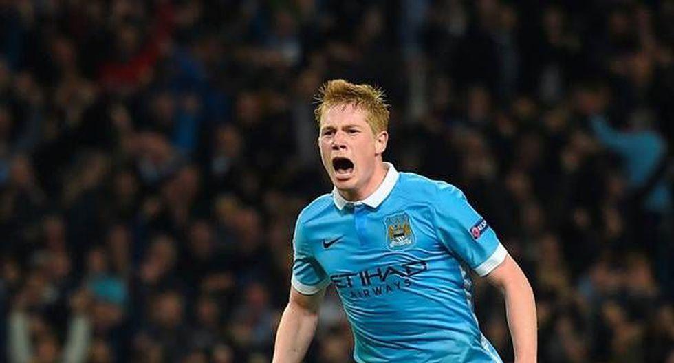 Manchester City tiene asegurada, según la BBC, la renovación de Kevin de Bruyne. (Foto:AFP).