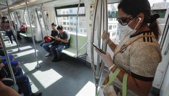 La Línea 1 del Metro de Lima es uno de los medios de transporte público más usados por los limeños. (Foto: GEC)
