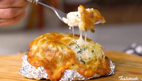 El queso mozzarella será el encargado de darle un sabor super especial. (Foto: Tastemade Español)
