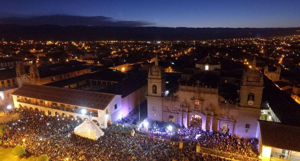 El presidente Martín Vizcarra participó en la misa y procesión del Domingo de Resurrección de Cristo en Ayacucho, parte de las actividades de cierre de la Semana Santa. (Foto: Gobierno Regional de Ayacucho)