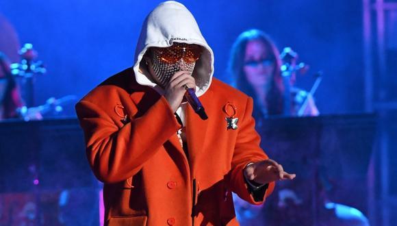 Bad Bunny es el intérprete de éxitos como 'Yo perreo sola', 'Safaera', 'Ahora me llama', entre otros.   (Foto: VALERIE MACON / AFP)