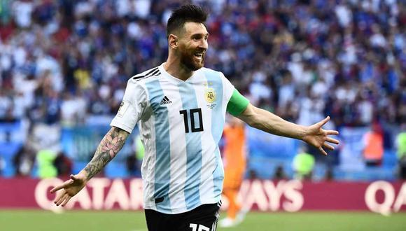 Lionel Messi está convocado en Argentina para el inicio de las Eliminatorias. (Foto: AFP)