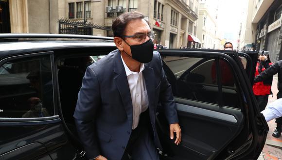 Martín Vizcarra asegura que apelará si es que el Poder Judicial no atiende su acción de amparo. (Foto: GEC)