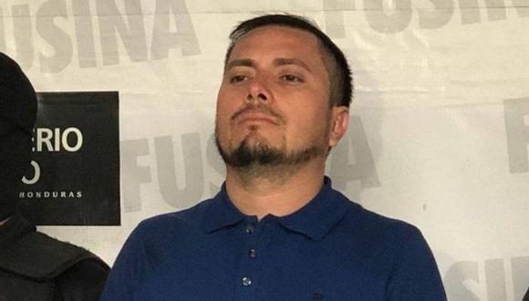 Magdaleno Meza, presunto narcotraficante detenido el año pasado en Honduras, fue asesinado este sábado en una cárcel de máxima seguridad. (Foto: AFP)