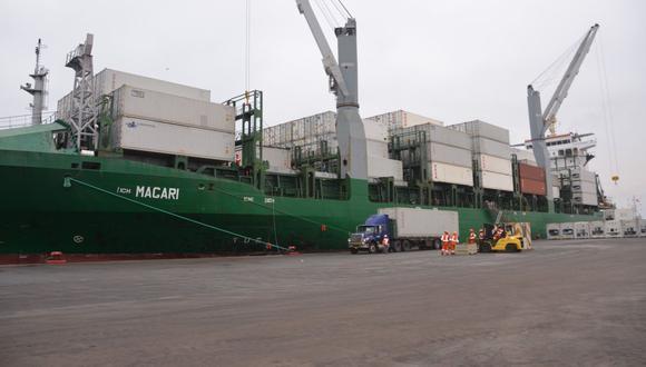 El proyecto de modernización del Puerto General San Martín se encuentra en última fase y tiene una inversión pendiente de S/ 100 millones. (Foto: GEC)
