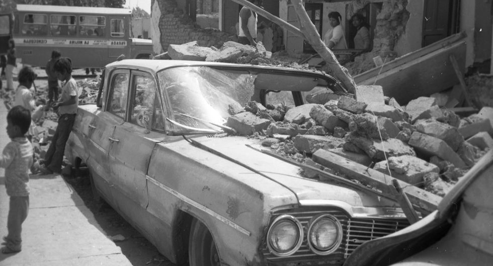 3 de octubre de 1974: El movimiento telúrico que duró cerca de dos minutos dejó como saldo 252 muertos y 3600 heridos. (Foto: archivo El Comercio)