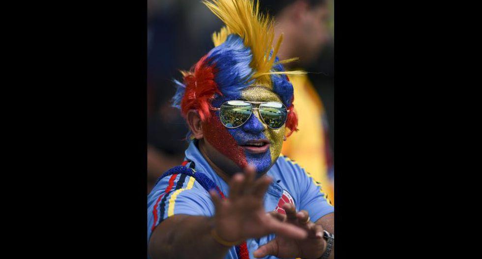 Colombia-Chile: belleza, color e ilusión en previa del partido - 7