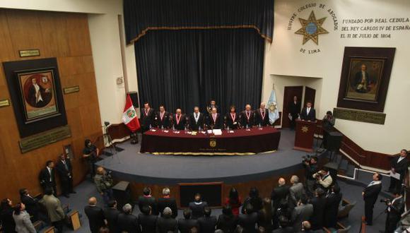 Colegio de Abogados de Lima elegirá a nuevo miembro del JNE