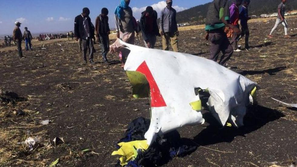 Un avión Boeing 737 de Ethiopian Airlines se estrella con 157 personas a bordo en un vuelo a Kenia sin dejar sobrevivientes. (Reuters).