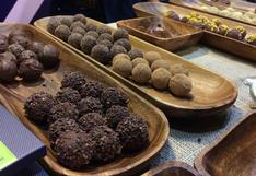 11 chocolates del Salón del Cacao, donde se muestra lo mejor del grano peruano