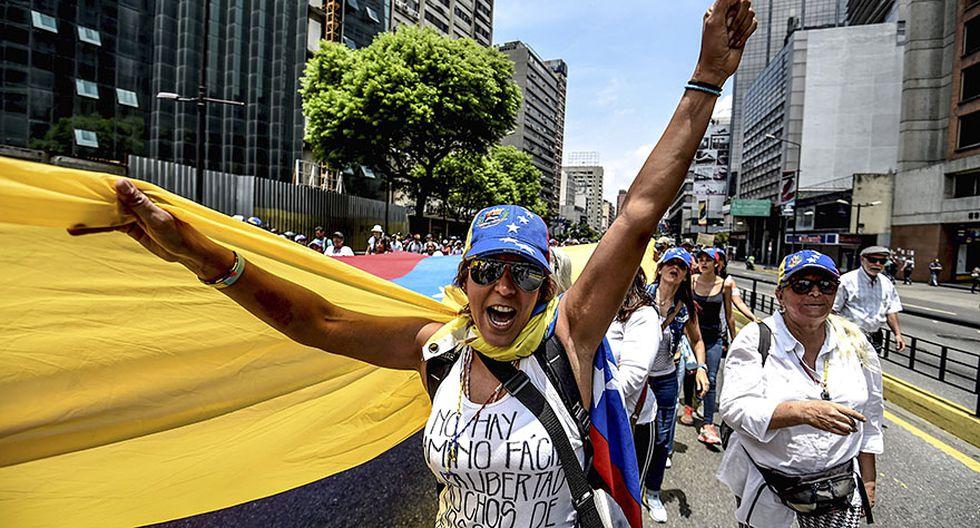 """Venezuela: El """"plantón"""" en protesta contra Nicolás Maduro - 16"""