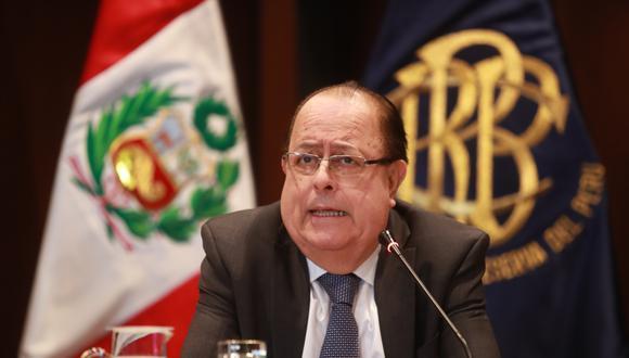 Julio Velarde ha recibido una propuesta de Pedro Castillo para que se mantengan en la presidencia del BCR en su eventual gobierno. (Foto: GEC)