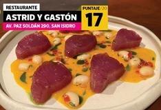 La crítica gastronómica de Paola Miglio a Astrid & Gastón