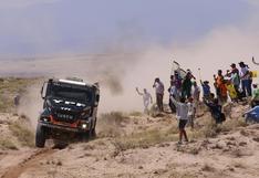 La impresionante partida de la octava etapa en el Dakar 1987