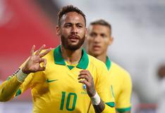 Perú perdió 4-2 ante Brasil con Hat Trick de Neymar por las Eliminatorias Qatar 2022