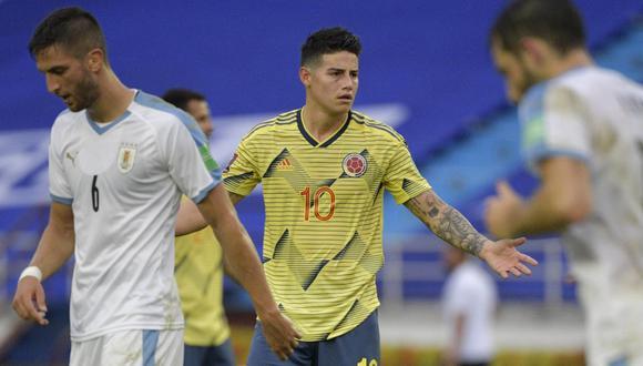 James Rodríguez juega en Everton de la Premier League desde esta temporada. (Foto: AFP)