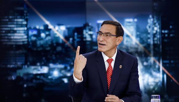 Martín Vizcarra pidió que el Ministerio Público siga investigando el caso Richard Swing. (Foto: Presidencia)