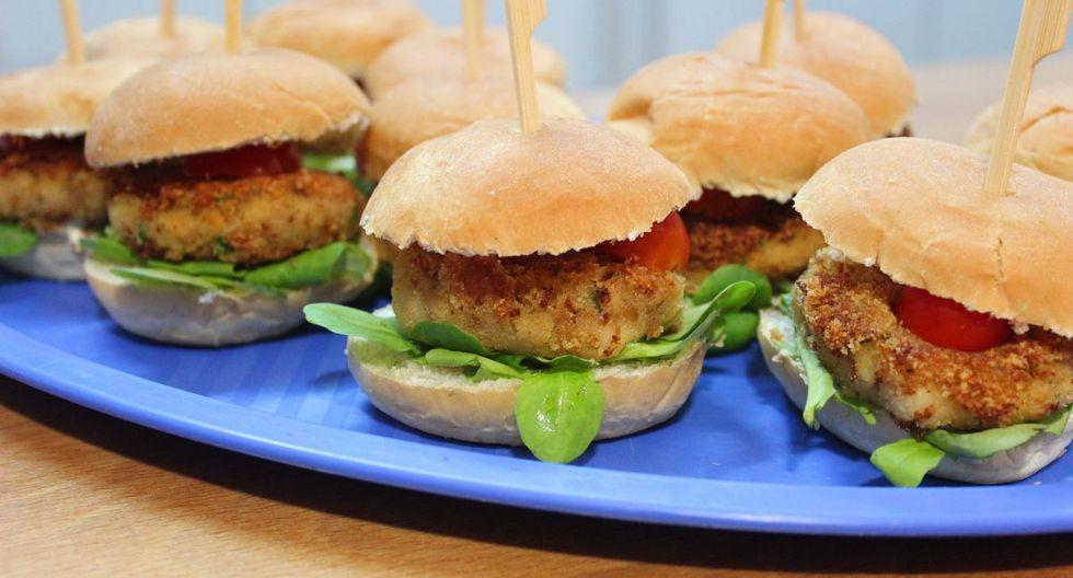 Gracias a las lentejas y garbanzos tendrás una hamburguesa vegetariana fácil de preparar y muy saludable. (Foto: Pixabay)