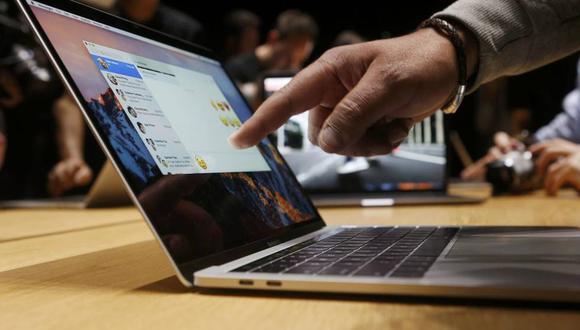Apple planea cambiar el concepto de teclado que existe hasta hoy. (Foto: Reuters)