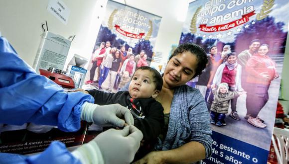 La anemia puede traer consecuencias sobre la salud de los niños y las madres gestantes.