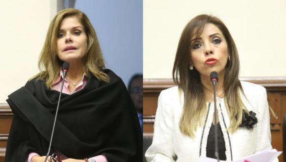 (Foto: Congreso / Composición El Comercio)