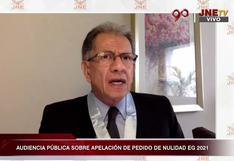 Fuerza Popular alegó que hubo fraude mostrando supuestas firmas falsas ante el JNE
