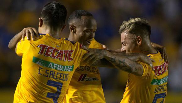 Tigres venció 1-0 al Houston Dynamo y clasificó a las semifinales de la Concachampions 2019. (Foto: AFP)