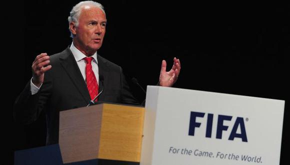 FIFA investigará a Franz Beckenbauer por pesquisa de corrupción