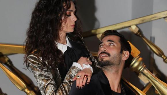 Özge Özpirinçci y Burak Yamantürk iniciaron su romance en 2014. Siete años después, se casaron (Foto: Özge Özpirinçci / Instagram)