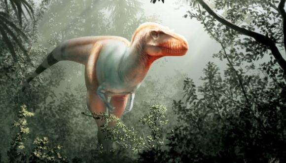 """A este dinosaurio hallado en Canadá se le conoce como """"el segador de la muerte"""". (Foto: University de Calgary/Getty Images)"""