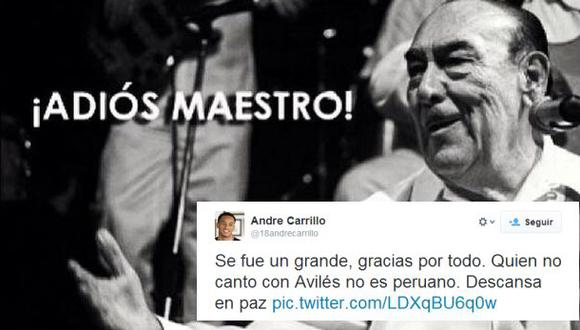 Futbolistas se unen a la tristeza por partida de Óscar Avilés