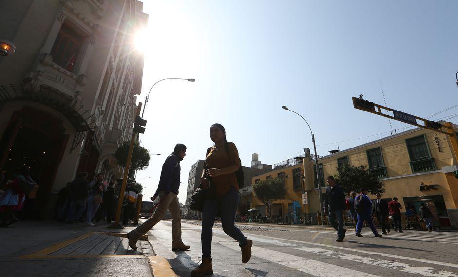 Habrá brillo solar en los próximos dos días en la capital. (Foto: GEC)