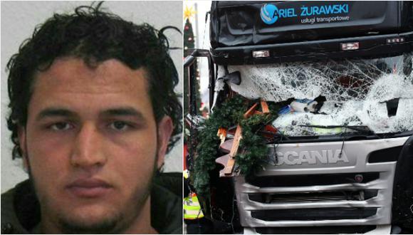 Berlín: Hallan huellas dactilares de Amri en camión de atentado