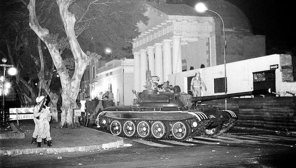 El Perú tuvo dos cámaras parlamentarias hasta el autogolpe que perpetró el 5 de abril de 1992 el entonces presidente Alberto Fujimori. (Foto: Archivo Histórico de El Comercio)