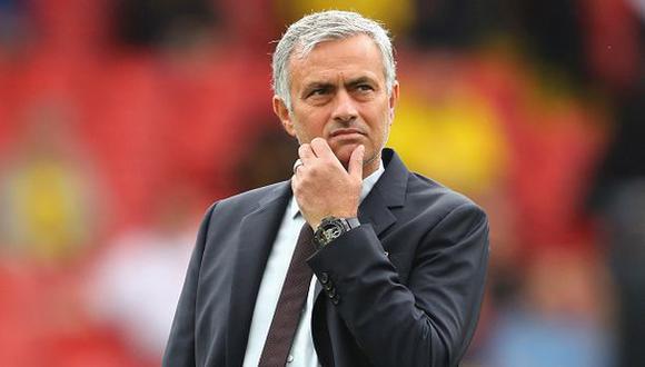 Mourinho culpó nuevamente al árbitro por derrota del United