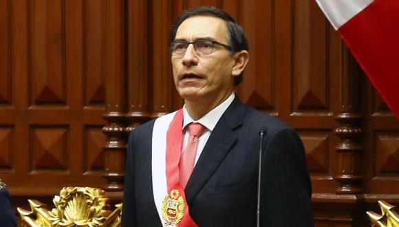 Martín Vizcarra asumió la presidencia del Perú el 23 de marzo. Diez días después, como indicó, presenta a su Gabinete Ministerial. (Foto referencial: EFE)