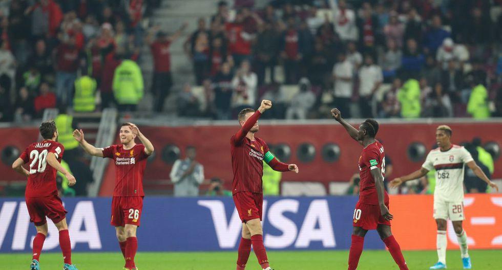 Firmino marcó el único gol de Liverpool en la final del Mundial de clubes. (Foto: AFP)