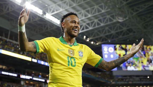 Colombia vs. Brasil EN VIVO ONLINE vía Caracol: con gol de Neymar, empatan 2-2 en el Hard Rock Stadium | Foto: AP
