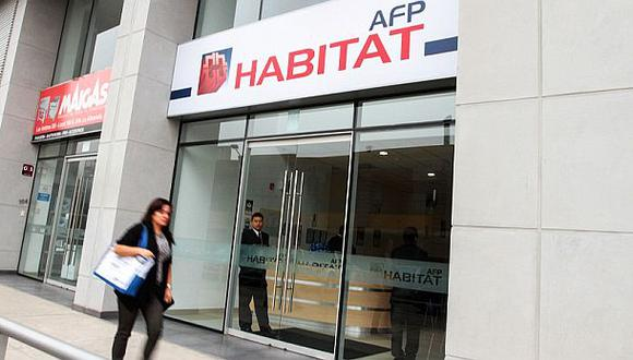 El cronograma para las solicitudes del retiro de la AFP empieza el 18 de mayo. Los aportantes a la AFP Habitat podrán realizar la gestión de manera virtual. (GEC)