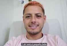 Chicharito Hernández se hizo 'youtuber' y compartió el nacimiento de su hijo en video