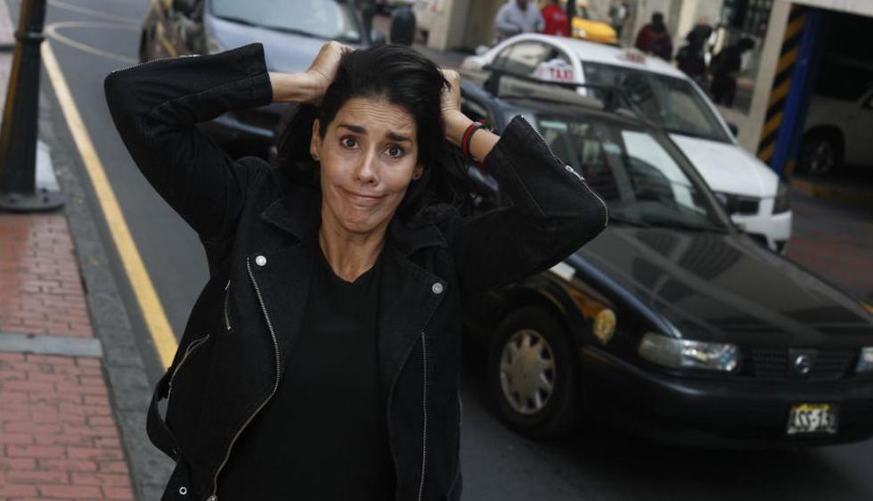 """Gianella Neyra, protagonista de """"Recontraloca"""", filme peruano dirigido por Giovanni Ciccia. (Foto: César Campos / El Comercio)"""