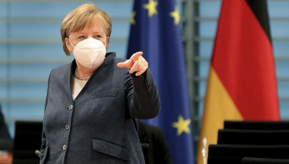 La canciller de Alemania Angela Merkel. (Michael Sohn / POOL / AFP).