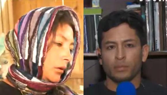 """El padre de los hijos de Magaly Solier volvió a conversar con """"Magaly TV: La Firme"""". (Foto: ATV)."""
