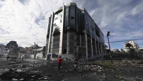 El director del Instituto Metropolitano de Patrimonio, Raúl Codena, señaló en una entrevista al canal local Gamavisión que la valoración de los daños todavía no ha concluido pero sería de por lo menos US$500 mil. (Referencial AP)